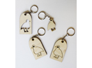 Scott Smith Bird Key Chain