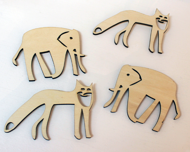animal magnets by Scott Smith