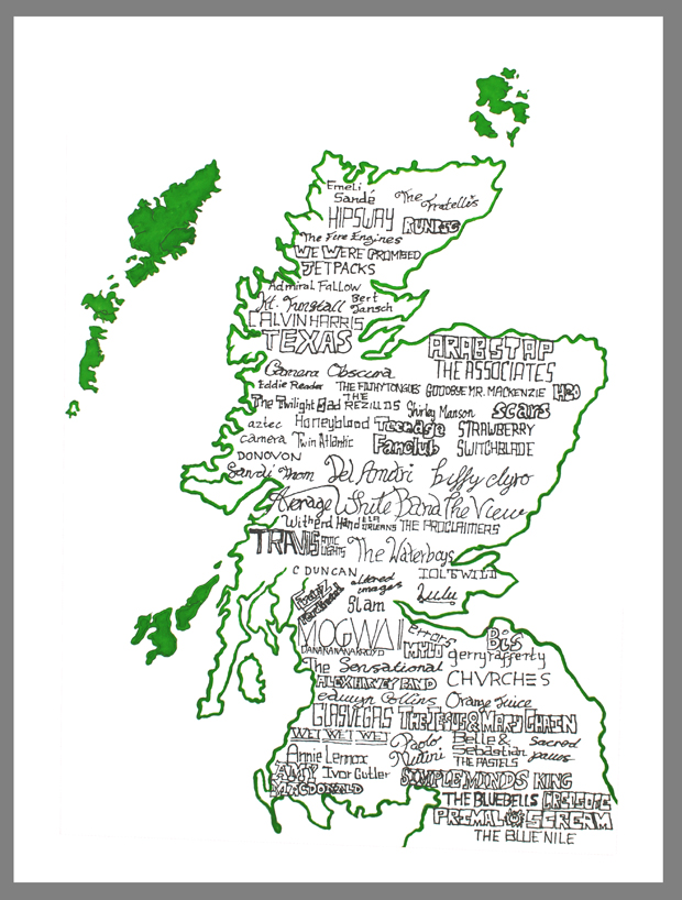 A Musical Guide To Scotland Poster