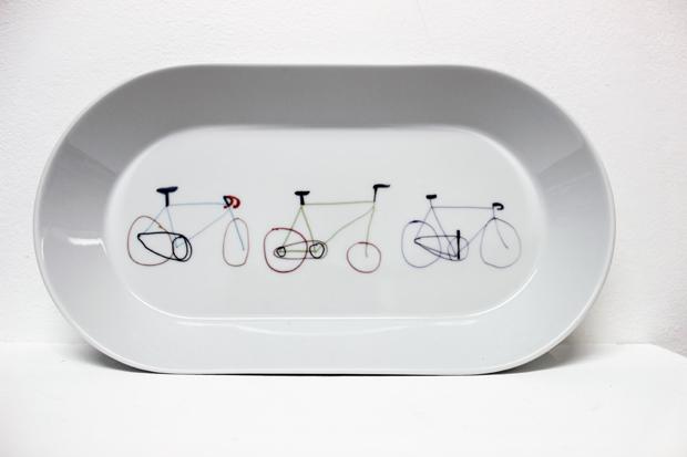 Fixie Bike Dish