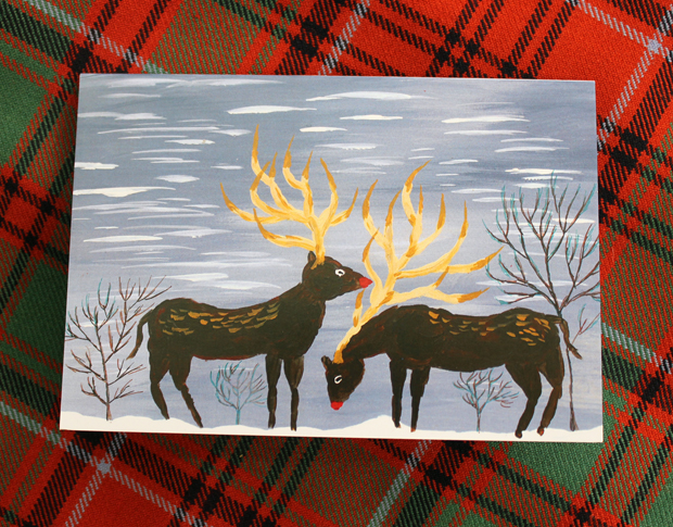 Christmas Cards by Edward Henry