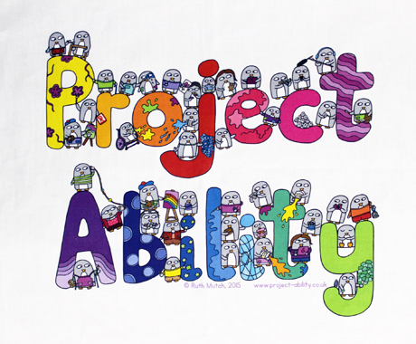 Project Ability Tea Towel