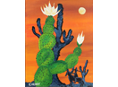 'Cactus Valley' Greeting Card