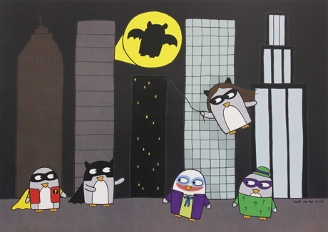 'Gotham City' by Ruth Mutch
