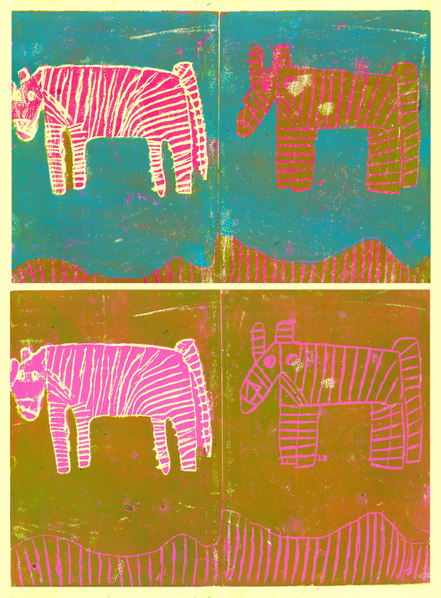 'Zebras' poster