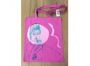 Audrey Hepburn Silk Screen Tote Bag