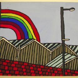 'Rainbow Over the Factory' by Pauline Jackson