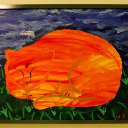 'Sleeping Cat' by Zoe Wagner