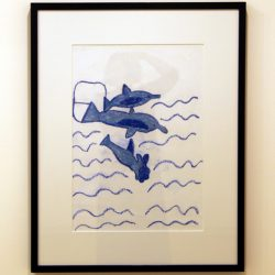 'Dolphins' by Catherine Rankine