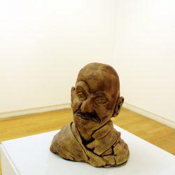 'Gandhi' by Michael Stark