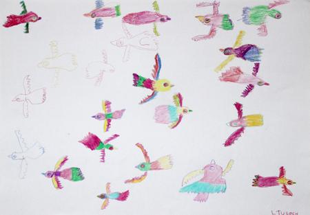 Artwork of the Week – 'Birds' by Linda Tulloch