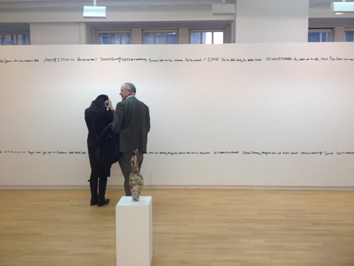 Opening of 'Residency Exhibition'