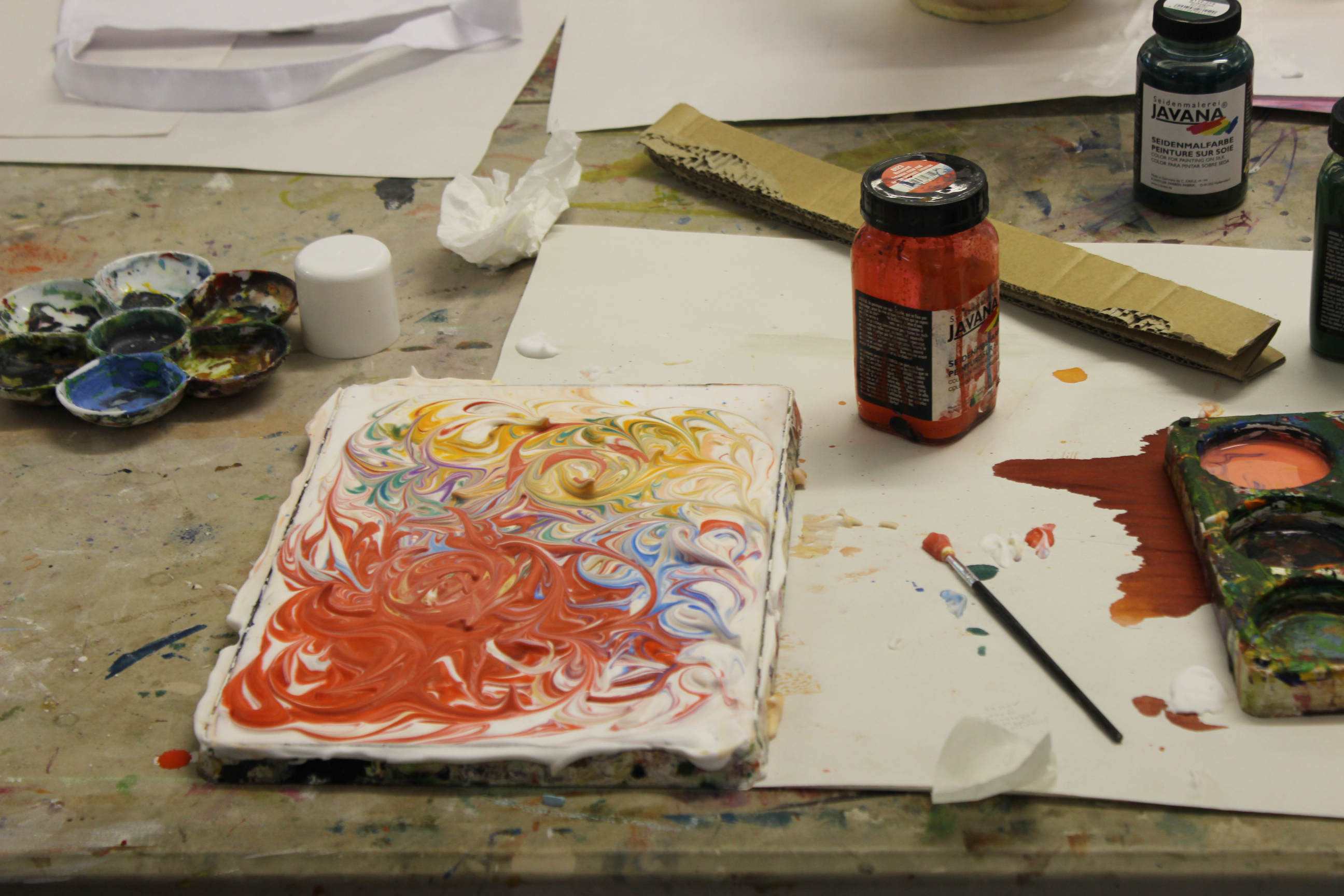 Foam Marbling at Project Ability
