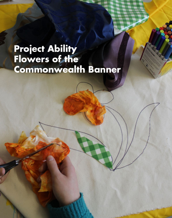 Celebrate - Flowers of the Commonwealth Banner