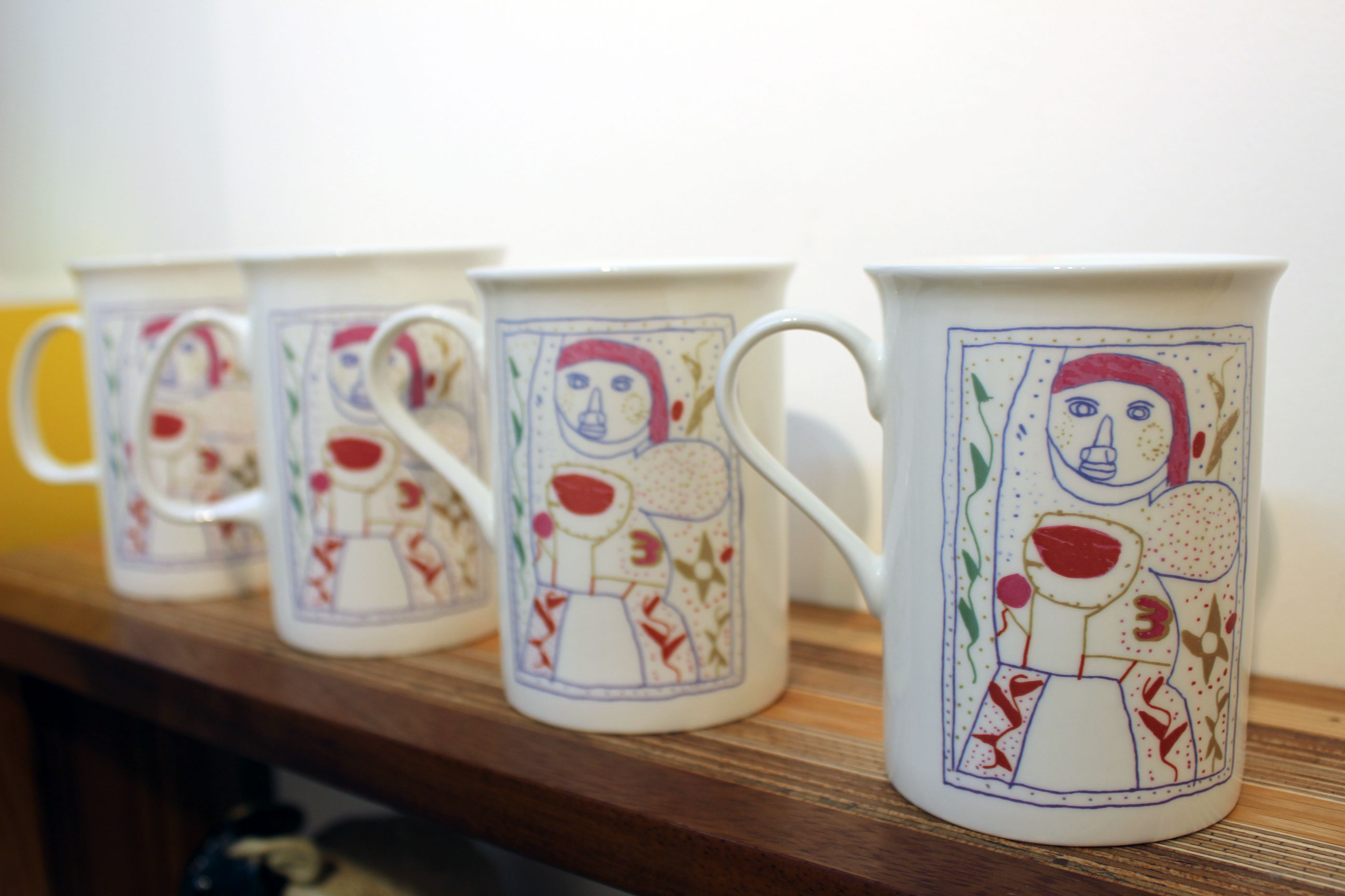 Launch of 30th Birthday mugs for Learning Disability Week 2014