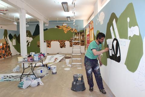 Cameron's Way- Coast to Coast - Open Studio