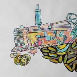 'Tractor' by Cameron Morgan