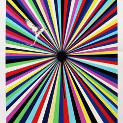 'Sun Visor' by Jim Lambie