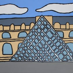 'The Louvre' by Pauline Jackson