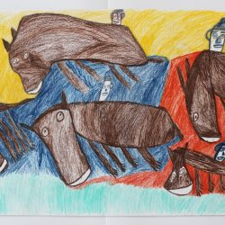 'Men on Horses' by Tommy Mason