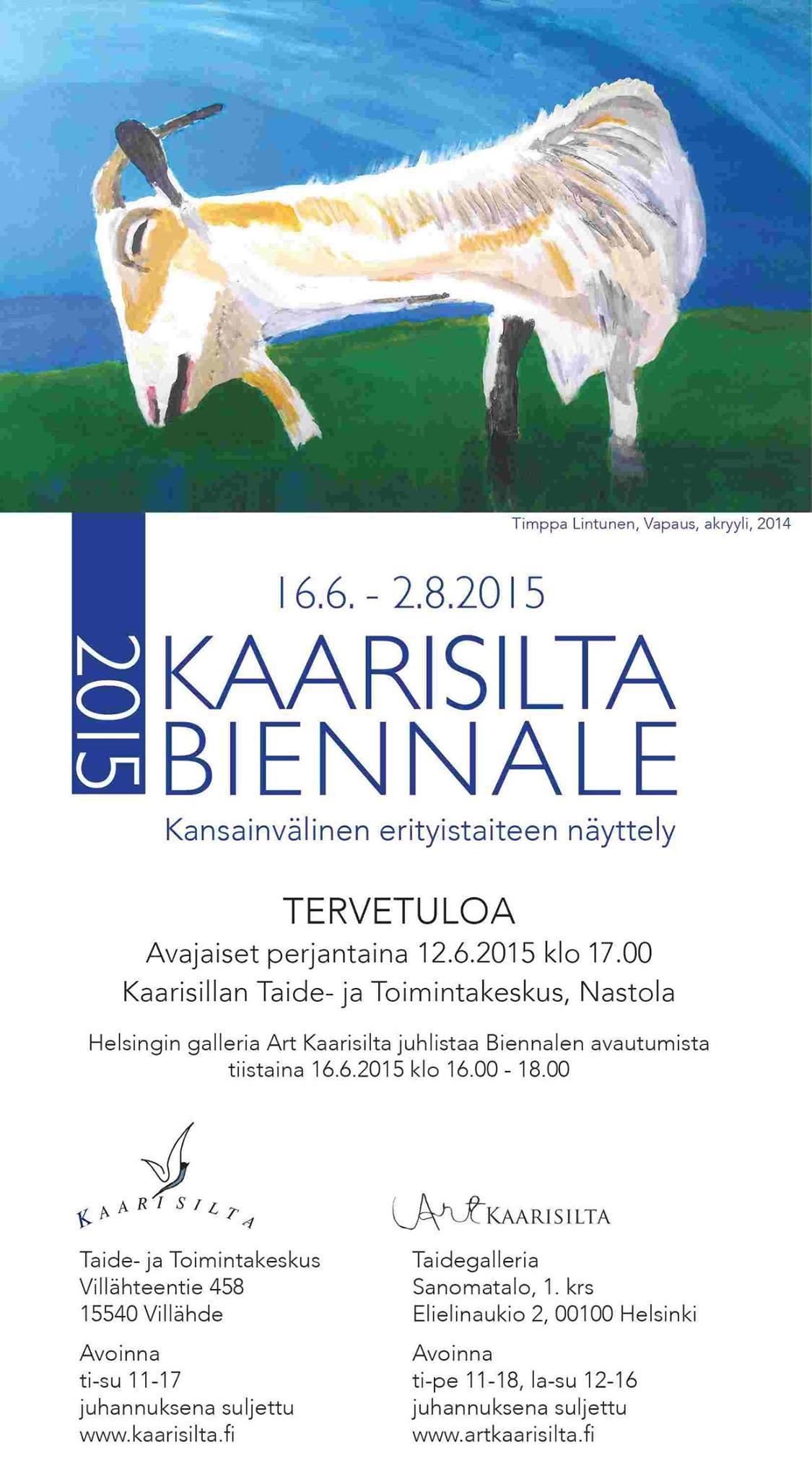 Kaarisilta Biennale 2015