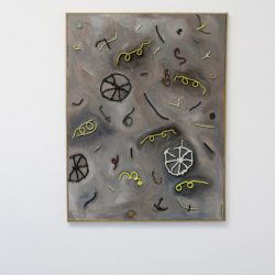 'Exploded vehicle (yellow spectacles)' 2010 by Charlie Hammond