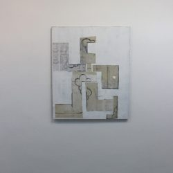 'Fleeing figure, the sewating scopophobic' 2012 by Charlie Hammond