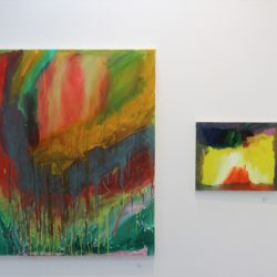 Left: 'Untitled' by Sam Perks Right: 'Untitled' by Matthew Bridges
