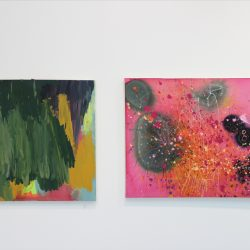 Left: 'Untitled' by Craig Murray Right: 'Untitled' by Beth Laing