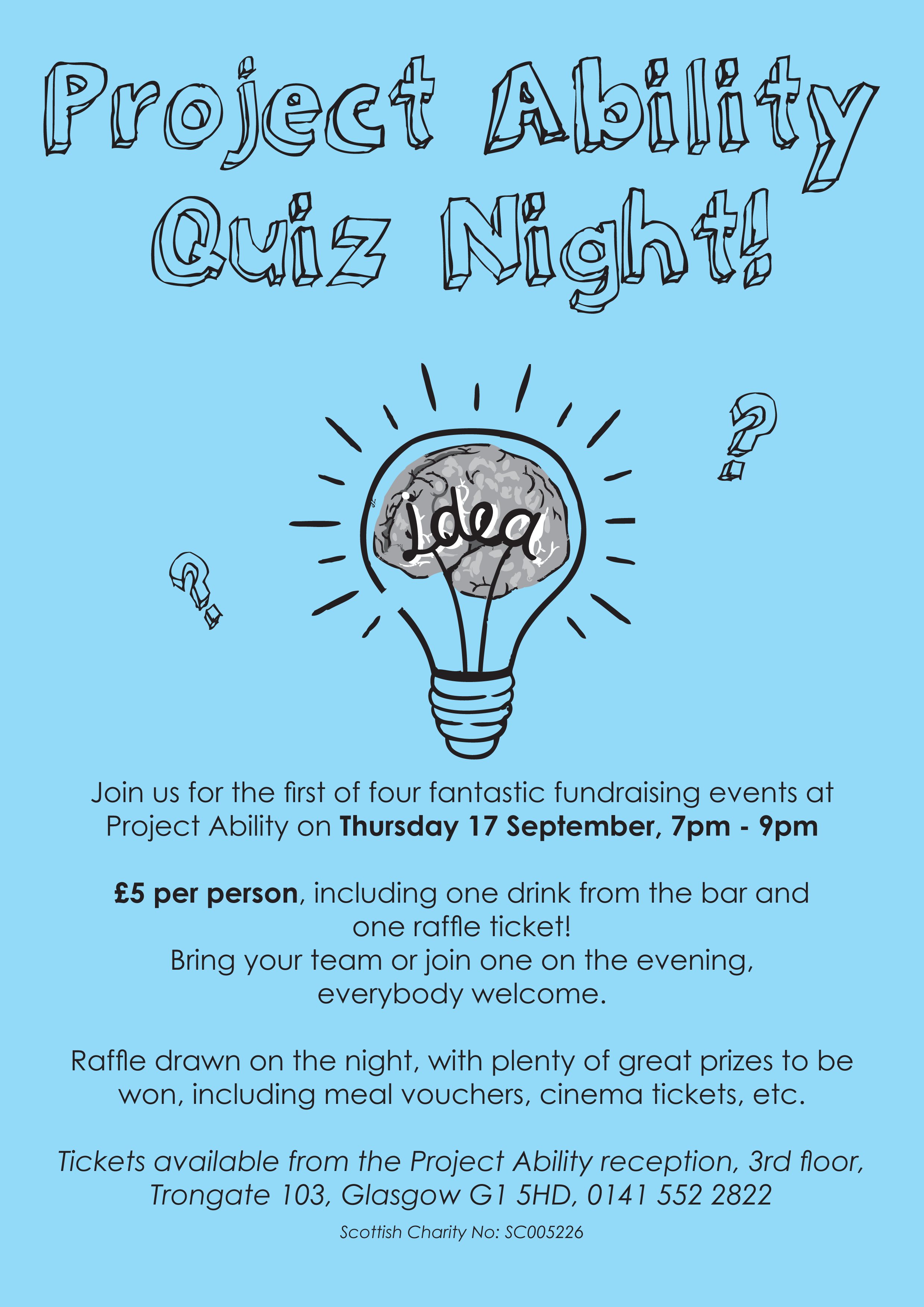 Project Ability Quiz Night