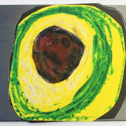 'Untitled (Avocado)' by Paul Maxwell