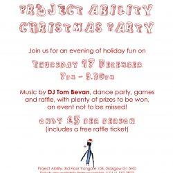 Christmas Party tonight