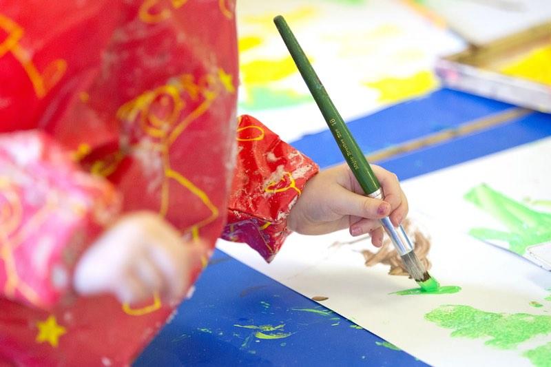 New visual arts workshop for Glasgow pre-schools