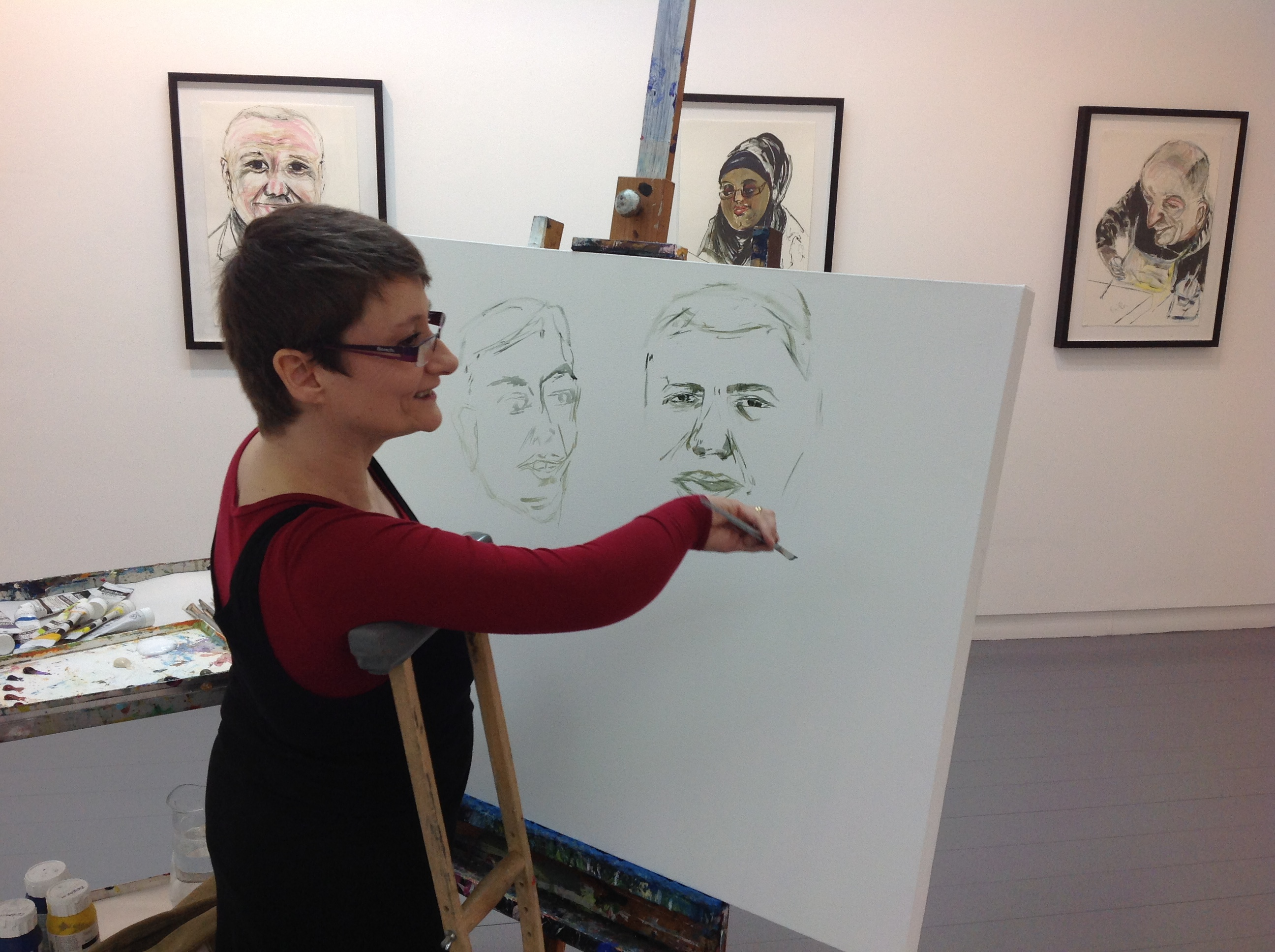 Portrait masterclass with Tanya Raabe-Webber
