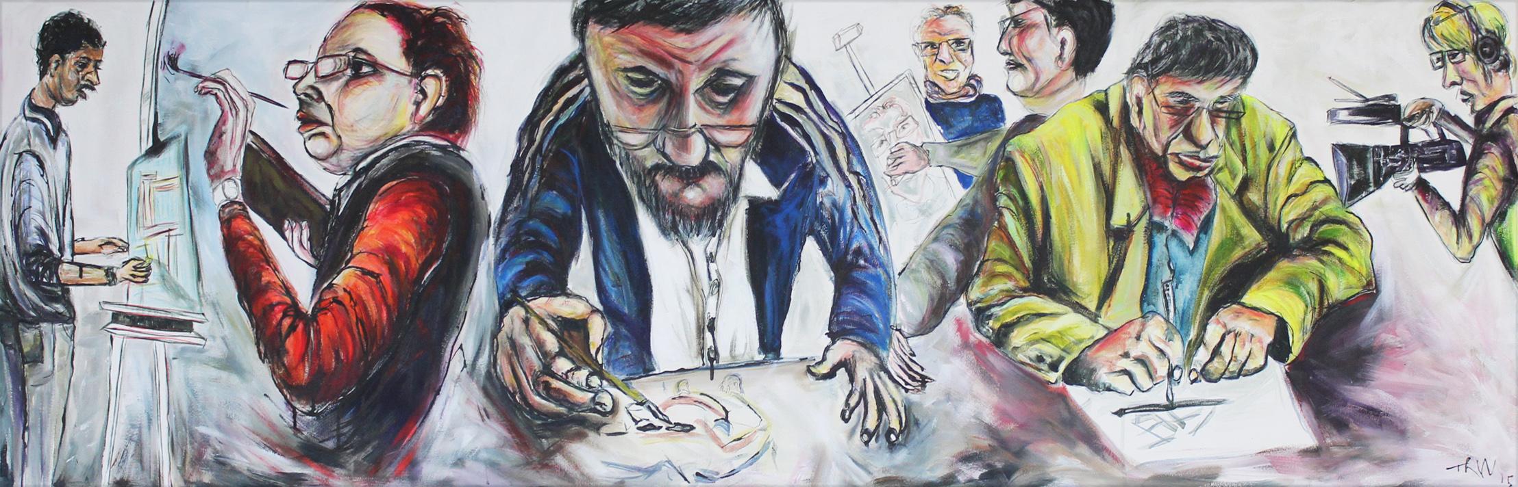 Watch Tanya Raabe-Webber paint a new portrait live