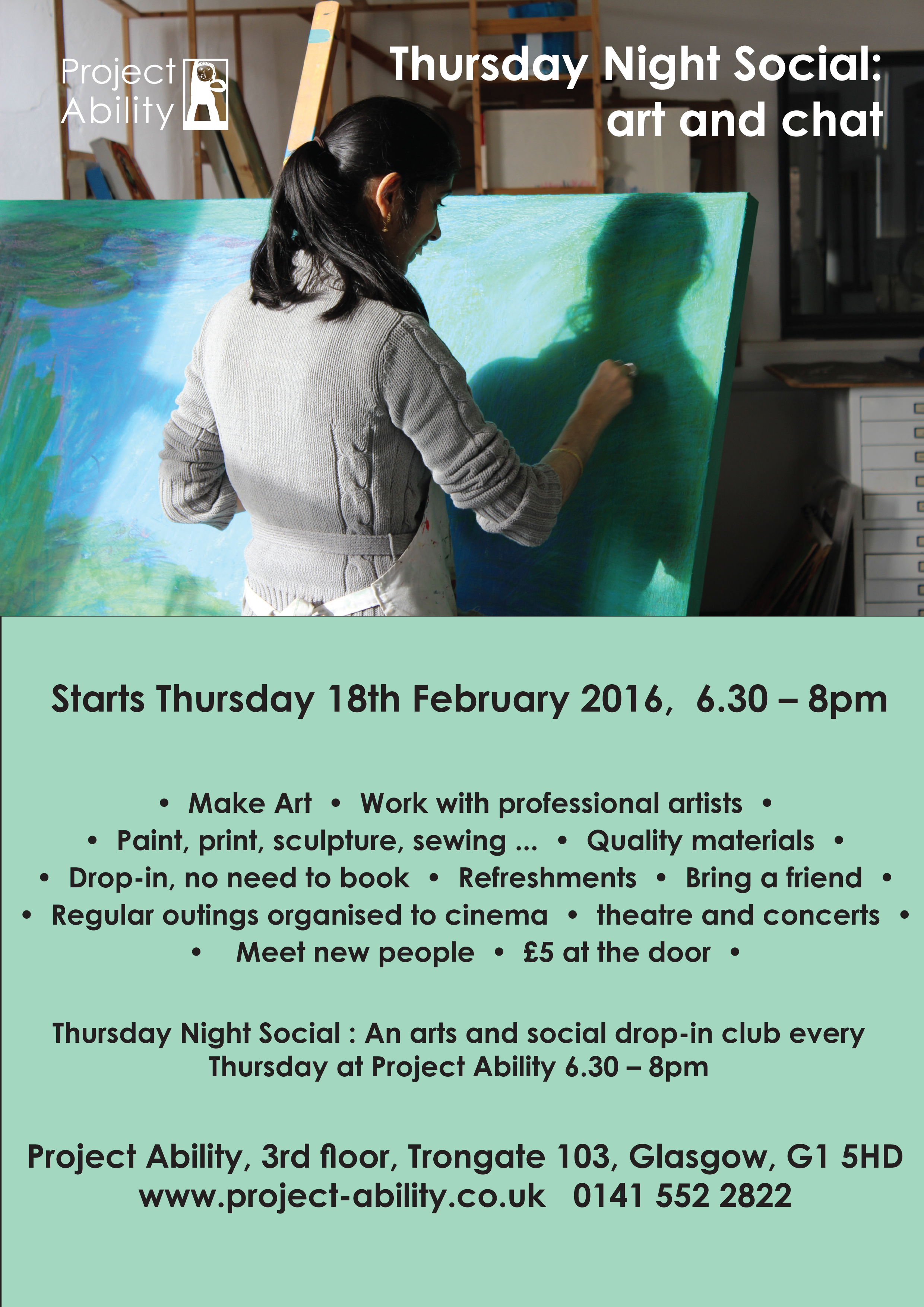 Pop by to the Thursday Night Social
