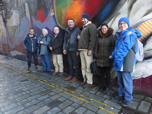 Walking Group Week 1 – the murals trail