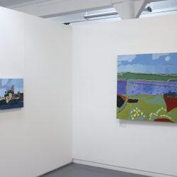 Left: Martin Sloss. 'Untitled. Right: Martin Sloss. 'Untitled'.
