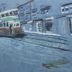 Ralph Douglas. 'Bus Stop, Glasgow'.
