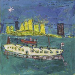Ralph Douglas. 'New York Harbour'.