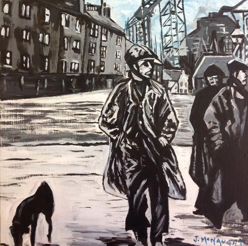 Artwork of the week – Near Govan - by John McNaught