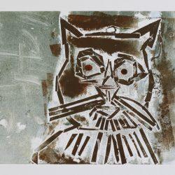 Doreen Kay. 'Fluffy the Cat'