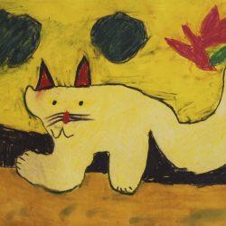 Mhairi Macdonald. 'Cat'