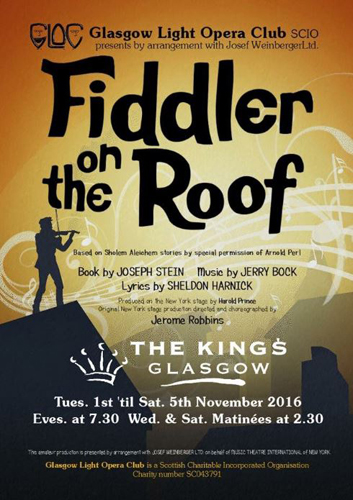 GLOC present Fiddler on the Roof
