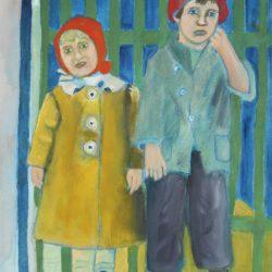 'Edwardian Children' by Elaine Davie