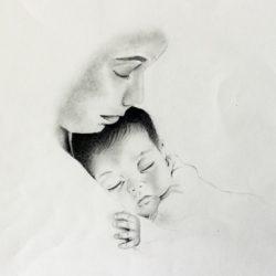 'untitled I' by Evelynn Somerville