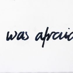 'I was afraid II' by Jane Fisher