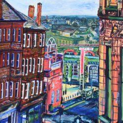 '103 Studio View Glasgow II' by Sian Mather
