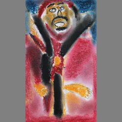 'Ming the Merciless' by Adnan Mohammed £10 Sold