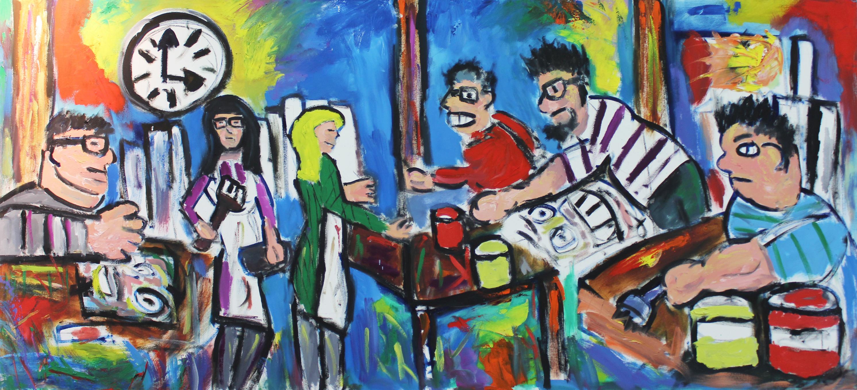 the studio by Jonathan McKinstry